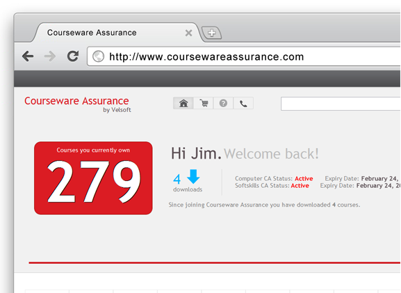 Courseware Assurance