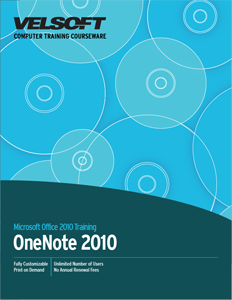 OneNote 2010 Advanced