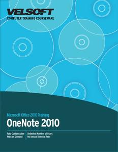 OneNote 2010 - Foundation