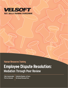 Dispute Resolution: Mediation through Peer Review