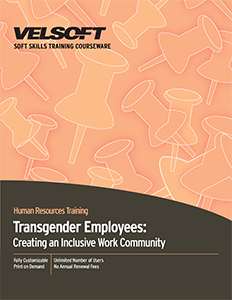 Transgender Employees: Creating an Inclusive Work Community