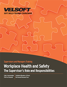 Workplace Health and Safety: The Supervisor's Role and Responsibilities