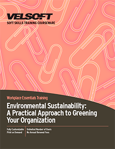 Environmental Sustainability: A Practical Approach to Greening Your Organization