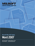 Microsoft Office Word 2007 - Foundation