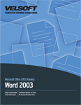 Word 2003 - Advanced