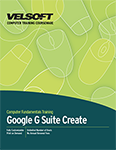 Google G Suite Create