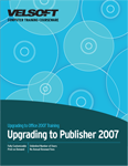 Upgrading to Publisher 2007