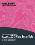 Access 2013 Core Essentials