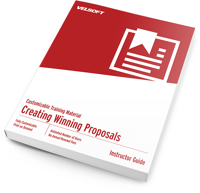 creating winning proposals training materials courses