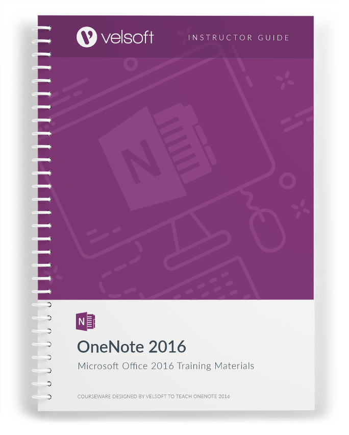 microsoft onenote 2016 training