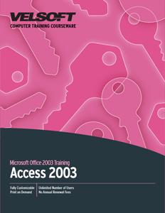 Access 2003 - Foundation