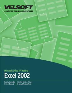 Excel 2002 - Intermediate