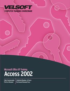 Access 2002 - Advanced