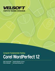 Corel WordPerfect 12 - Advanced