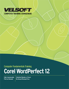 Corel WordPerfect 12 - Foundation