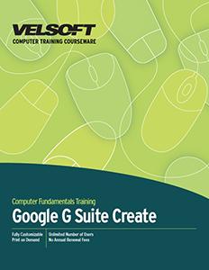 Google G Suite Create
