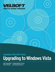 Upgrading to Windows Vista