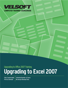 Upgrading to Excel 2007