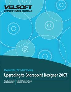 Upgrading to SharePoint Designer 2007