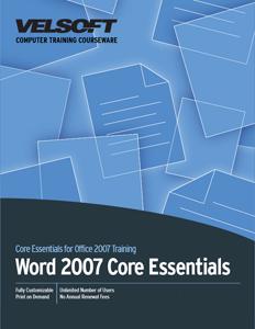 Word 2007 Core Essentials