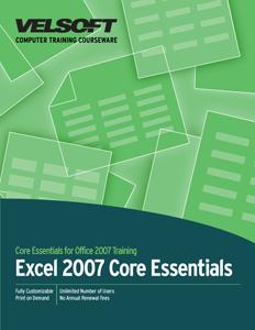 Excel 2007 Core Essentials