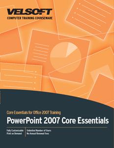 PowerPoint 2007 Core Essentials