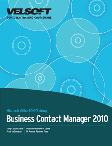 Business Contact Manager 2010 - Complete