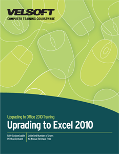 Upgrading to Excel 2010