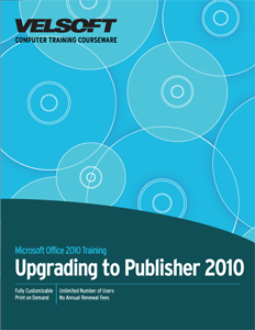 Upgrading to Publisher 2010 Complete