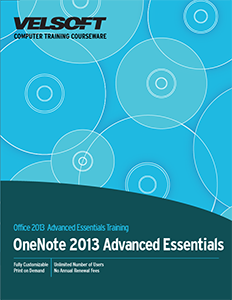 OneNote 2013 Advanced Essentials
