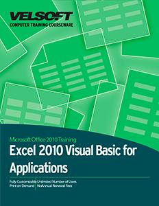Microsoft Excel 2010: VBA