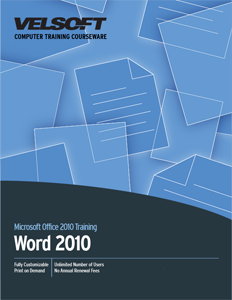 Microsoft Word 2010: Part One