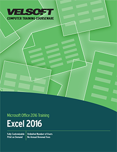 Microsoft Excel 2016: Part Two