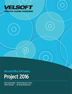 Microsoft Project 2016 - Part Two
