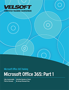 Microsoft Office 365 Part 1