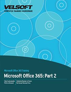 Microsoft Office 365 Part 2