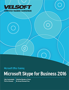 Microsoft Skype for Business 2016