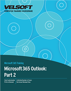 Microsoft 365 Outlook: Part 2