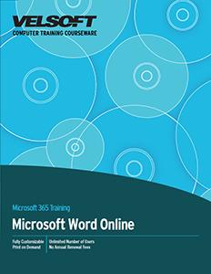 Microsoft 365: Word Online