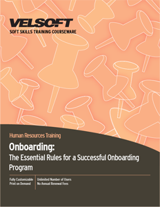 Onboarding - The Essential Rules for Developing an Onboarding Program