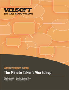 Minute Taking Workshop