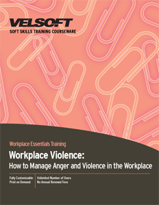 How to Manage Anger and Violence in the Workplace