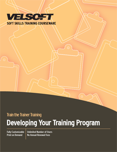 Developing Your Training Program