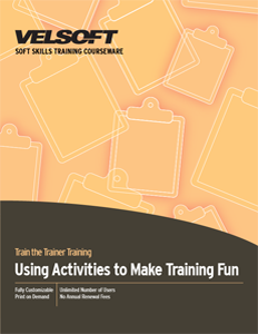 Using Activities to Make Training Fun
