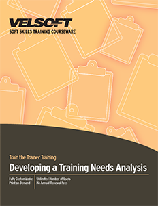 Developing a Training Needs Analysis