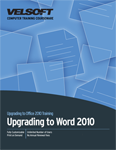 Upgrading to Word 2010