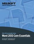 Word 2013 Core Essentials