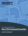 Word 2013 Advanced Essentials
