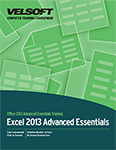 Excel 2013 Advanced Essentials