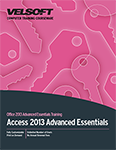Access 2013 Advanced Essentials